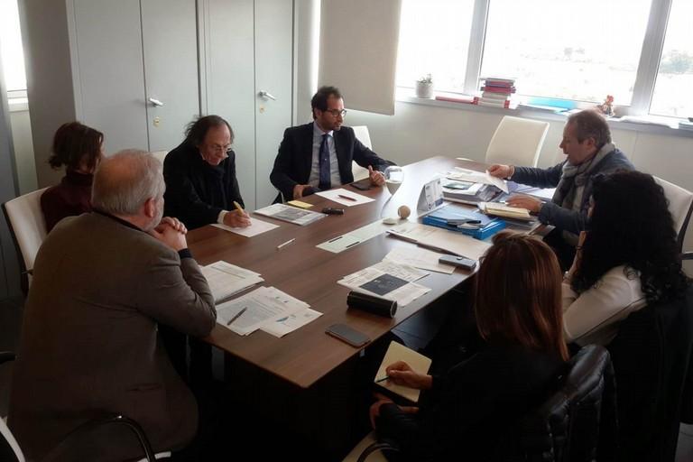 Il tavolo di lavoro in Regione Puglia
