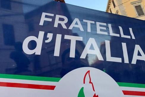 Bandiera di Fratelli d'Italia