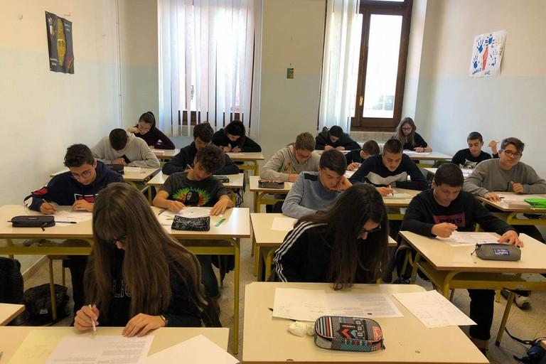 Le Olimpiadi di Matematica allo Spinelli. <span>Foto Liceo Spinelli</span>