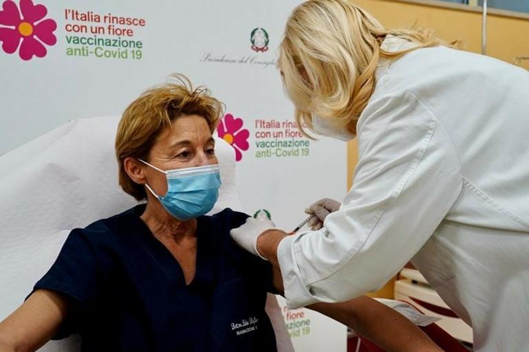 Le prima vaccinazione della Asl Bari