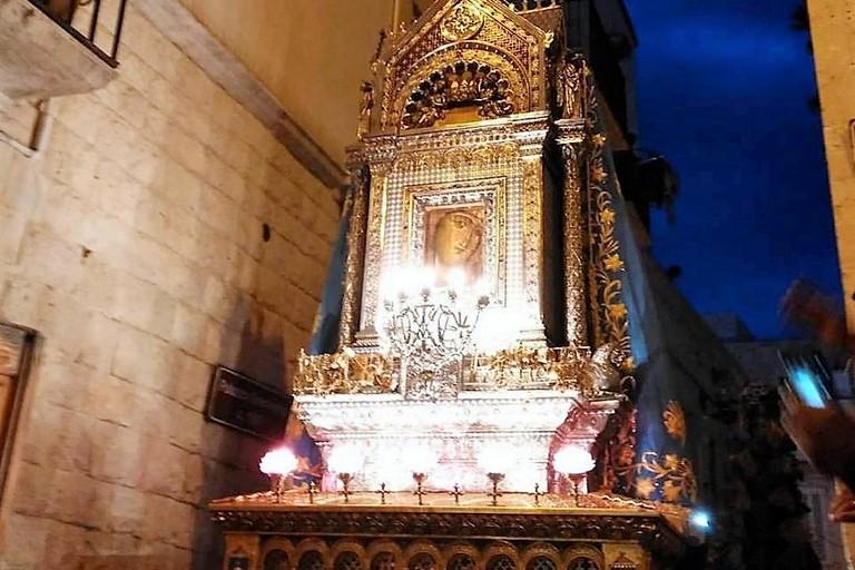 L'edicola di Maria di Corsignano. <span>Foto M.P. </span>
