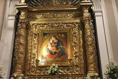 Il bellissimo quadro della Vergine di Costantinopoli