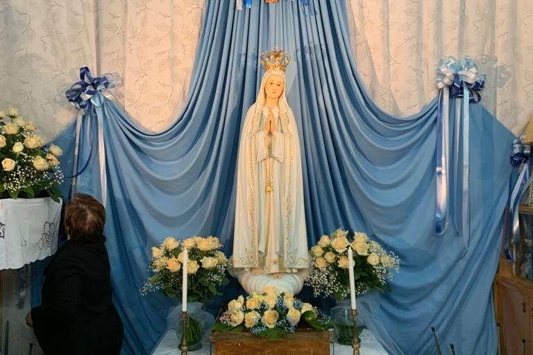 La Madonna della parrocchia Sant'Agostino