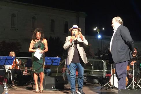 Al Bano in piazza Vittorio Emanuele II