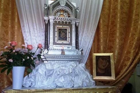 La benedizione dell'altarino per Maria SS di Corsignano
