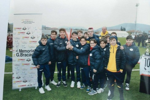 La Bruno Soccer School al memorial