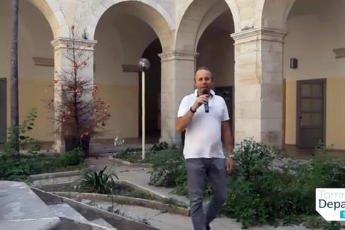 Depalma presenta il cantiere alla Cittadella della Cultura