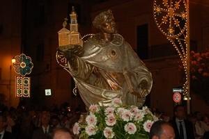 La statua del Beato Nicola Paglia