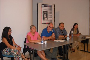 Un momento della presentazione. <span>Foto Gabriella Serrone</span>