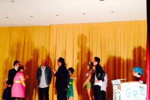 Un momento del musical. <span>Foto Marzia Morva</span>