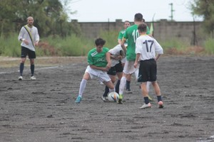 Il Giovinazzo Calcio. <span>Foto Mino Ciocia</span>