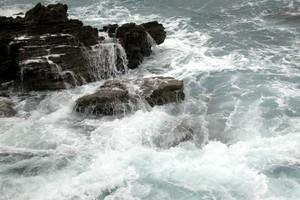 Mare agitato per i venti da sud