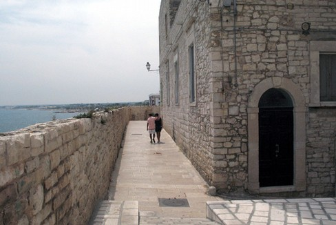 La muraglia. <span>Foto Gianluca Battista</span>