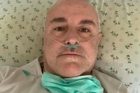 Nando Nunziante in ospedale