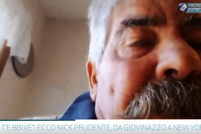 Nick Prudente durante la chiacchierata su Skype