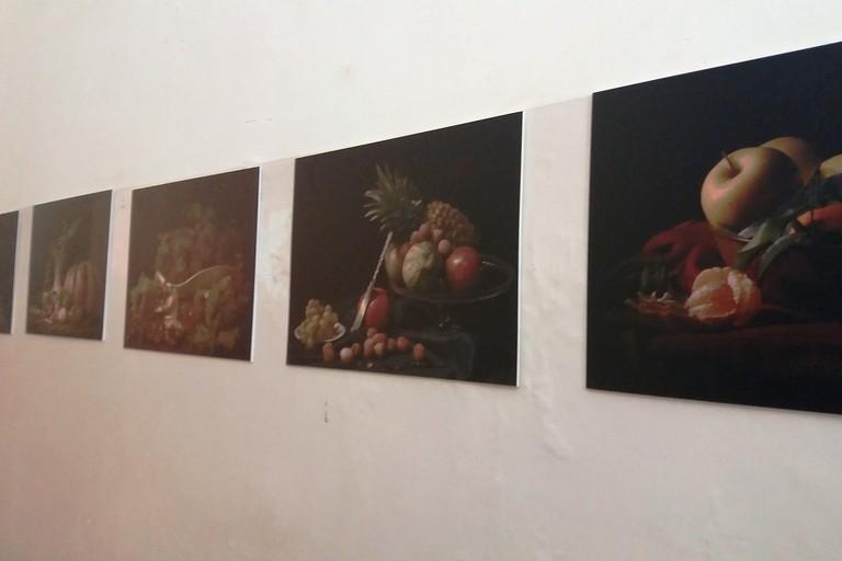 Alcune opere di Nico Quaranta