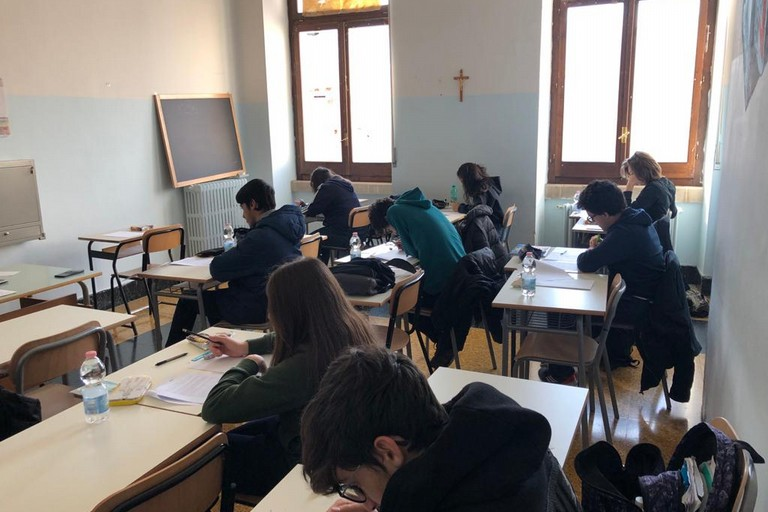 Olimpiadi della Matematica. <span>Foto Liceo