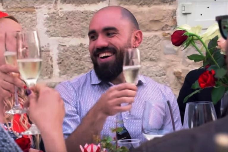 Orazio Saracino nel videoclip