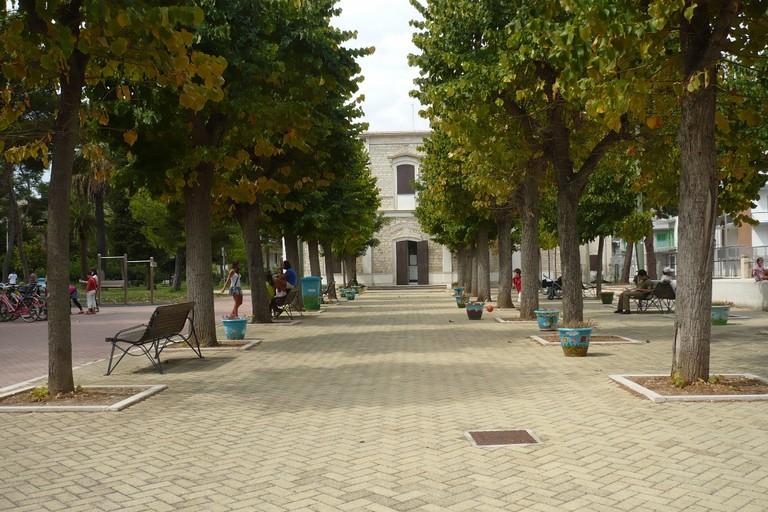 Il parco Giovanni Scianatico