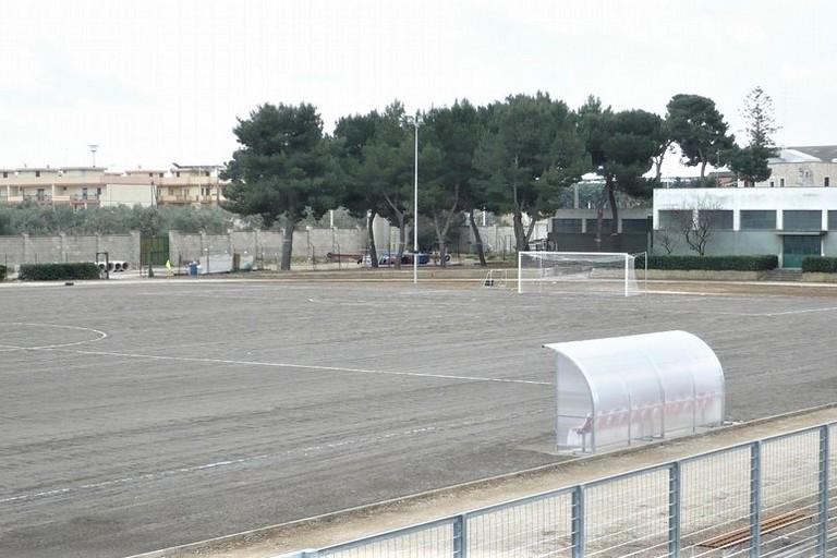Campo sportivo Giovinazzo. <span>Foto Nicola Miccione</span>