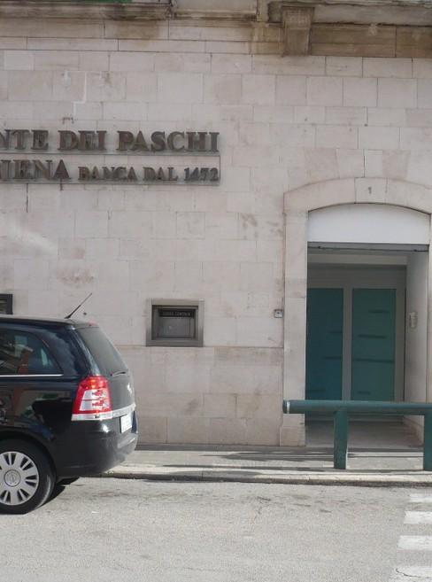 La banca Monte dei Paschi di Siena