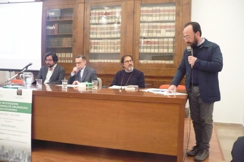 L'incontro organizzato dall'Osservatorio per la Legalità