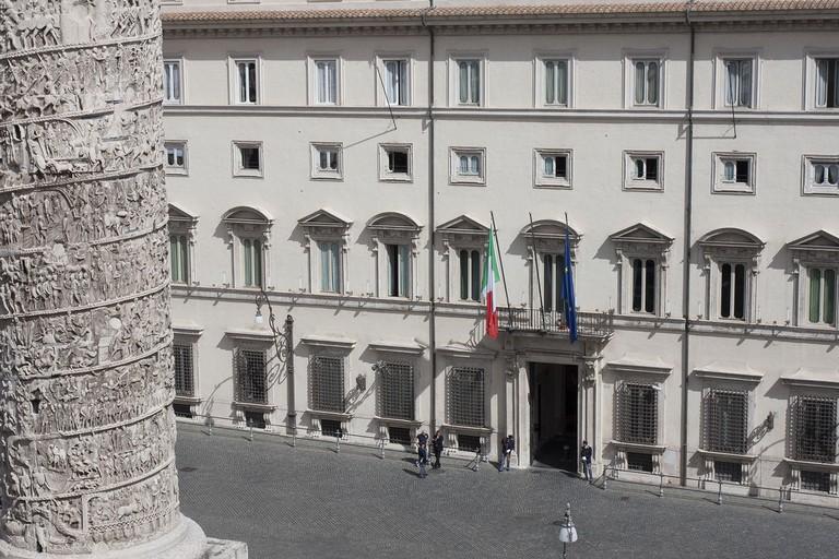 Palazzo Chigi. <span>Foto governo.it</span>