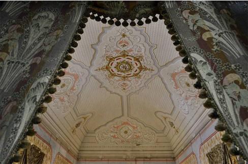 La volta di Palazzo Messere. <span>Foto Sonia Cortese '16</span>