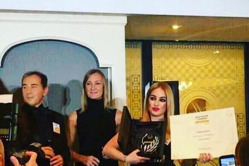 Paola Carrieri premiata a Milano