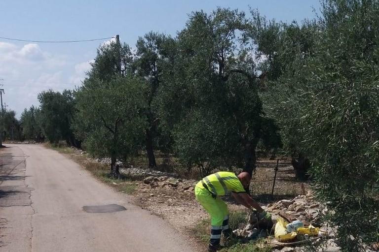 Operatori ecologici in azione