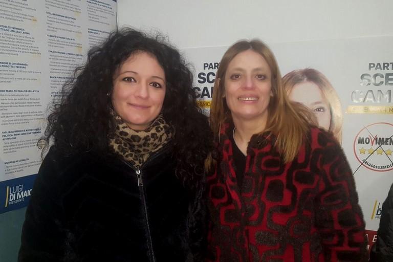 Francesca Galizia e Anna Bruna Piarulli