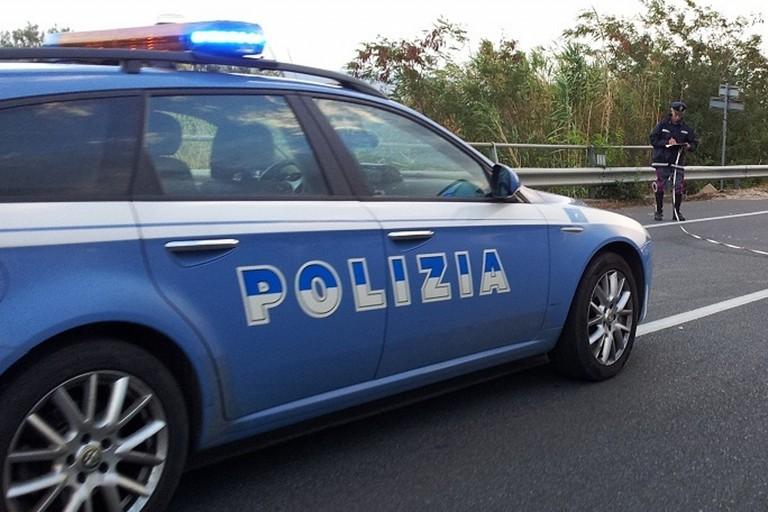 I rilievi della Polizia di Stato