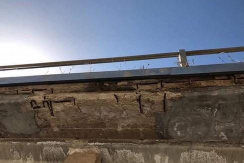 Usura sul ponte di via Daconto
