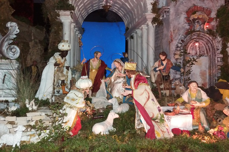Il presepe di Saverio Amorisco. <span>Foto Gianluca Battista</span>