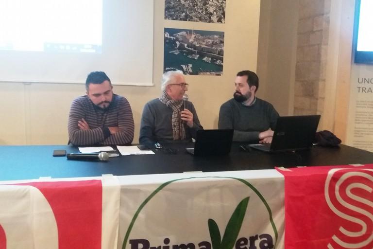 Brancato, Capurso e Bonvino. <span>Foto Gianluca Battista</span>