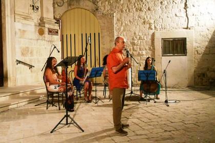 Franco Martini recita Achille Campanile (Foto Gianluca Battista)