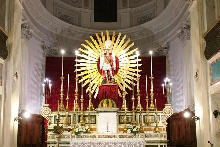 San Michele nella chiesa di Sant'Agostino