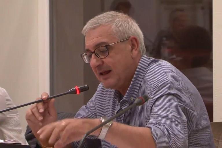 Vincenzo Castrignano in Consiglio comunale