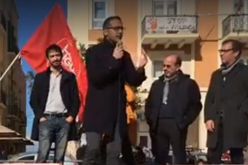 Nico Bavaro in piazza