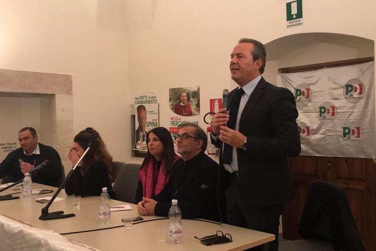 Francesco Spina: «Il mio impegno per la Zona Economica Speciale»