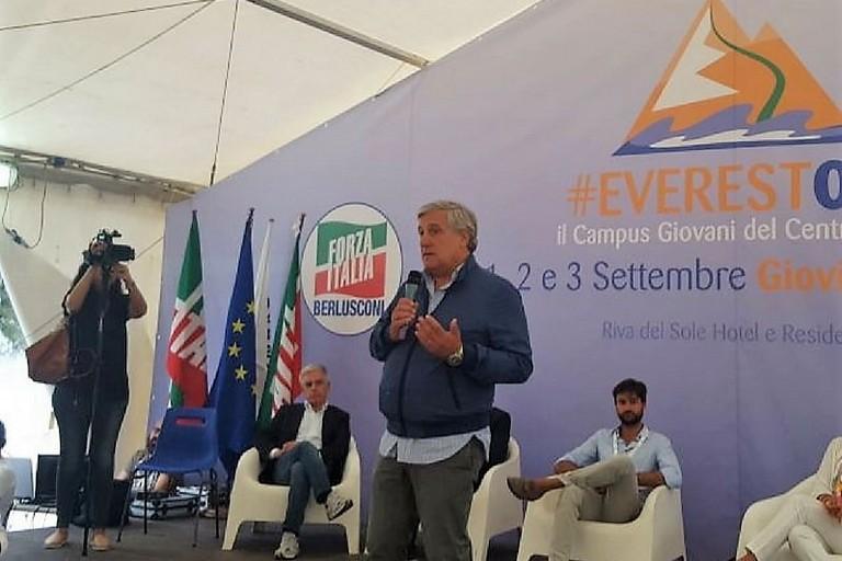 Antonio Tajani ad Everest. <span>Foto Everest017</span>