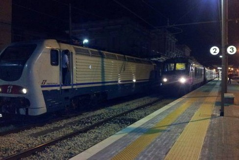 I treni fermi in stazione