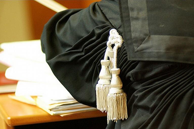 Un'aula di Tribunale