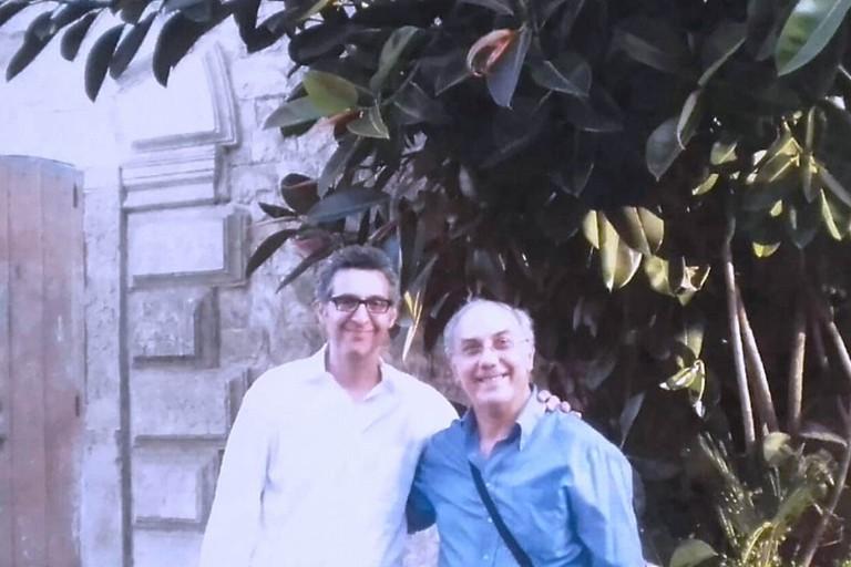 John Turturro a Giovinazzo con Michele Bonserio