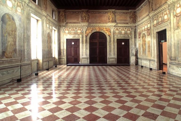 L'Odeo del Teatro Olimpico di Vicenza