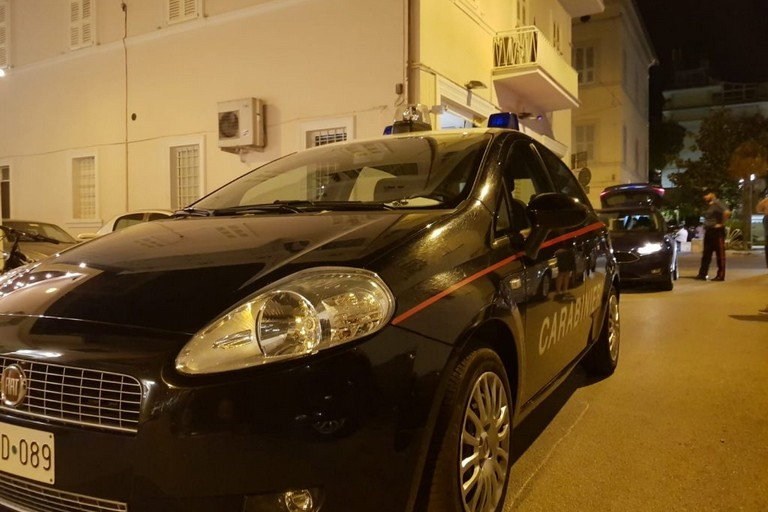 I rilievi dei Carabinieri